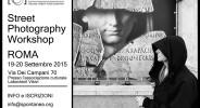 workshop street photography Roma
